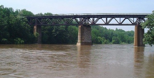 Bridge over Grand River